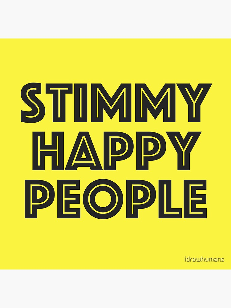 Stimmy Happy by idrawhumans