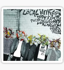 Local Natives Gorilla Manor Sticker