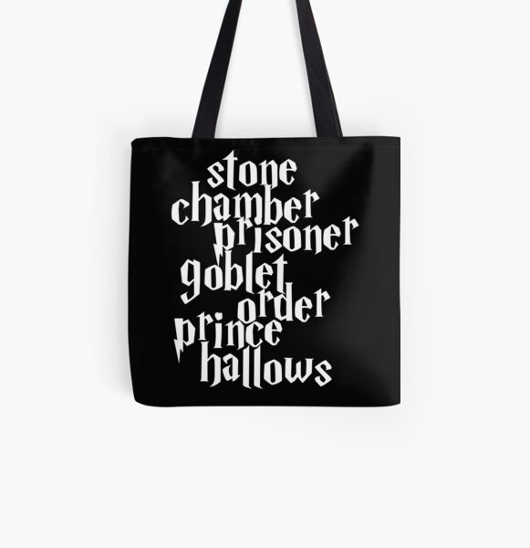 Stone Chamber Prisoner Goblet Order Prince Hallows Tote Bag Harry Potter Handbag