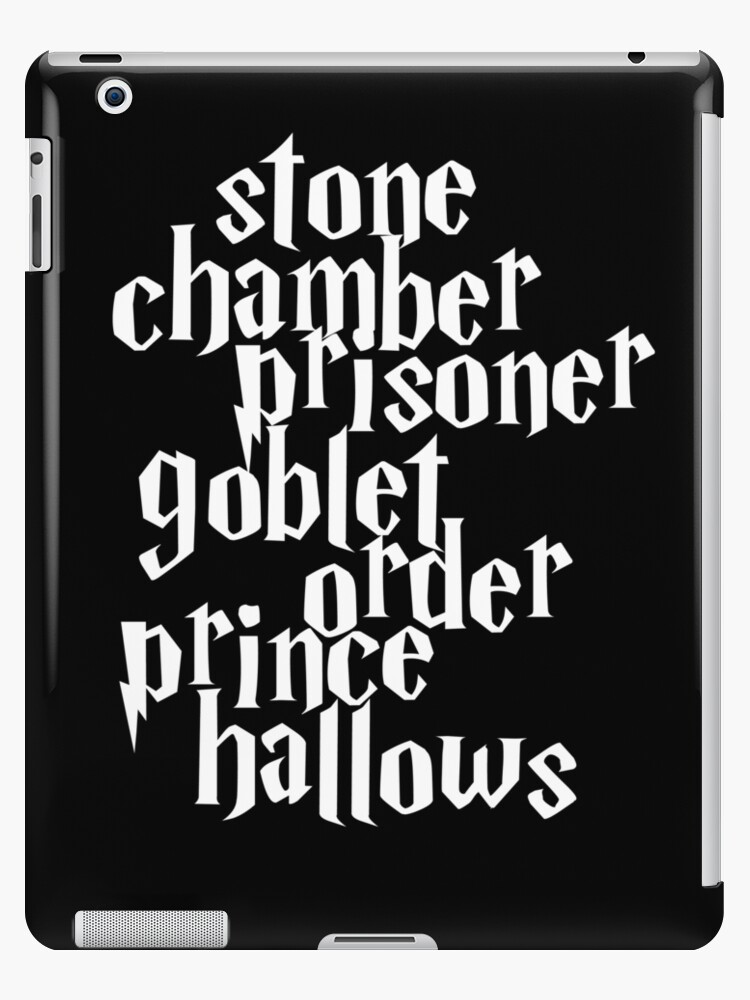 Stone Chamber Prisoner Goblet Order Prince Hallows Ipad Cases