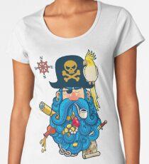 Pirate Portrait Women's Premium T-Shirt