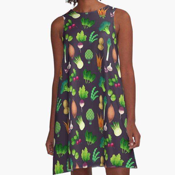 Farmers Market A-Linien Kleid