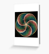 Prismatic Warp Greeting Card