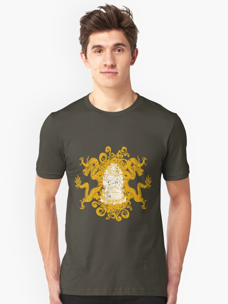 Buddha with Dragons by RockHouseCo