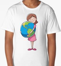 Child and Earth Long T-Shirt
