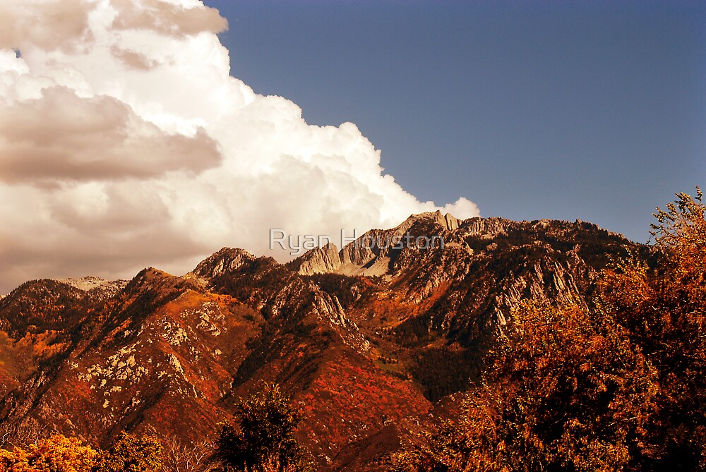 Mount Olympus in Autumnal Glory by Ryan Houston