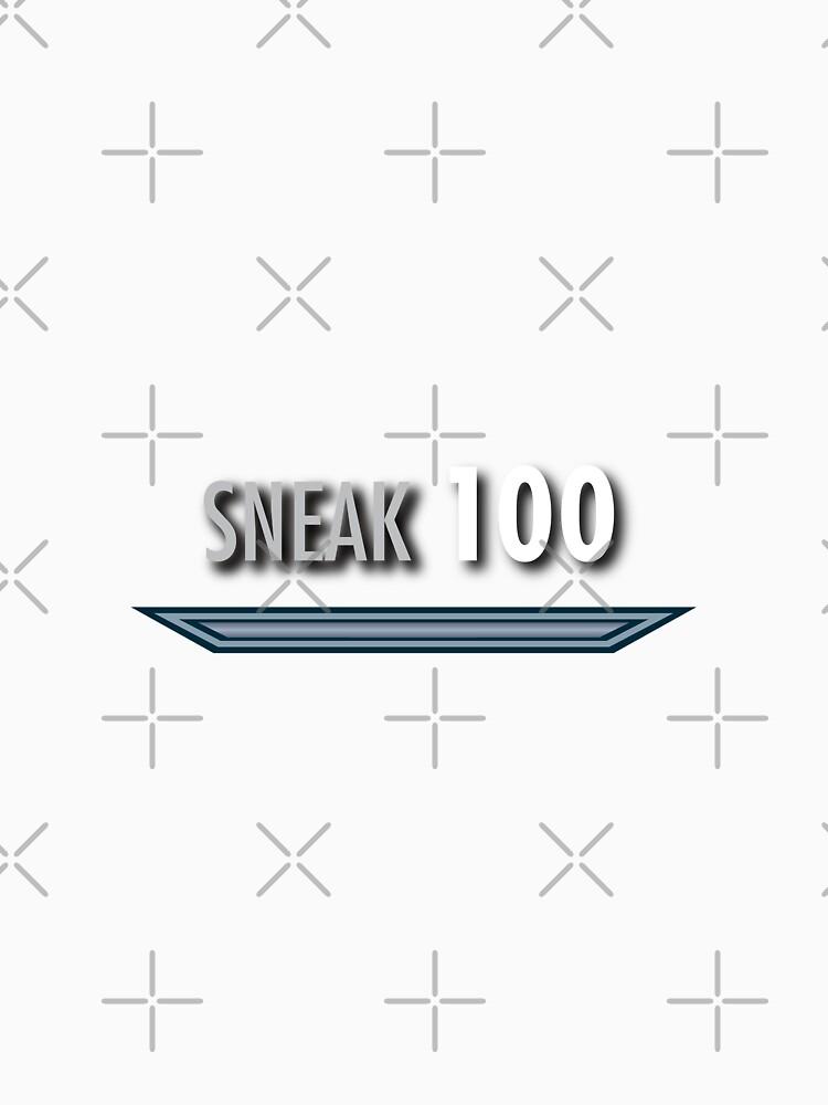 Sneak Skyrim skill style by NVDesigns