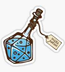 Mana potion. Sticker