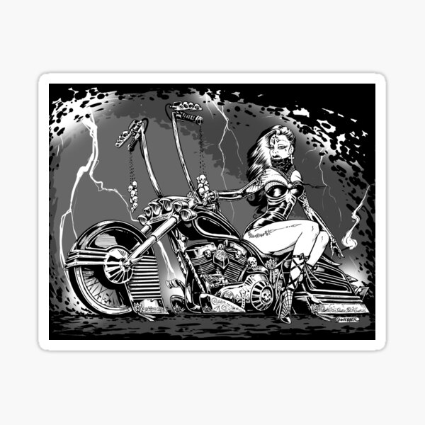 El Jinete Fantasma Sticker