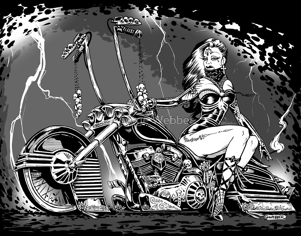 El Jinete Fantasma by George Webber