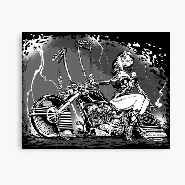 El Jinete Fantasma Canvas Print