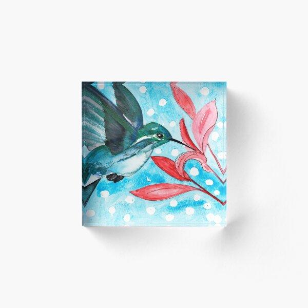 Snowbird 2 Acrylic Block