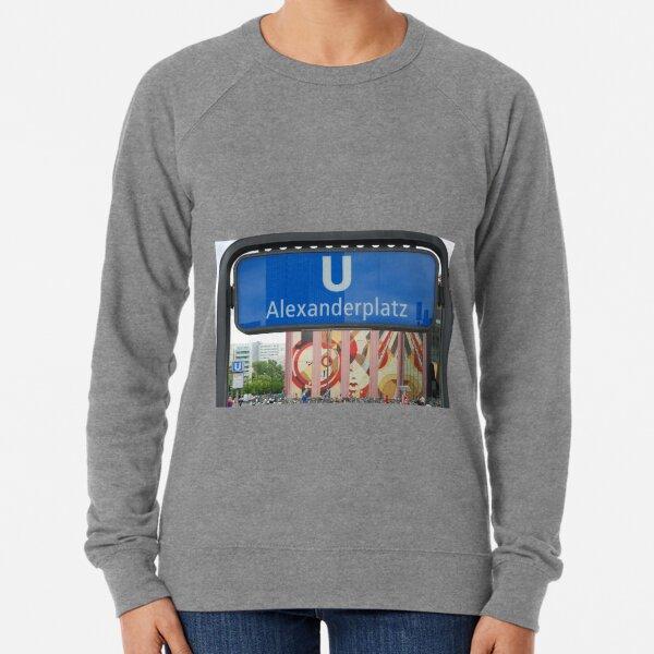 U Alexanderplatz Lightweight Sweatshirt