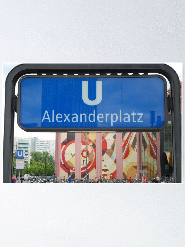 Alternate view of U Alexanderplatz Poster