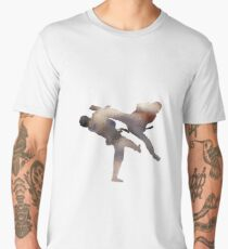 taekwondo - fighter Men's Premium T-Shirt