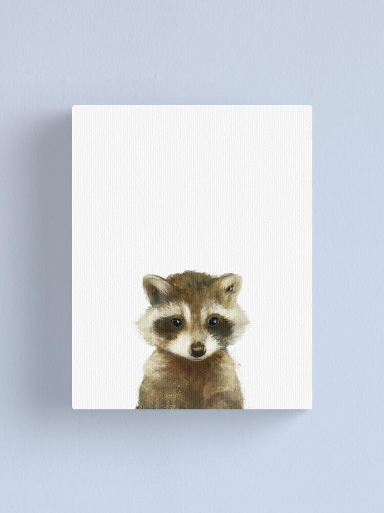 Alternate view of Little Raccoon Canvas Print