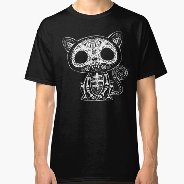 Day of the Dead Kitty Classic T-Shirt