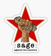 Sage Against The Machine Sticker