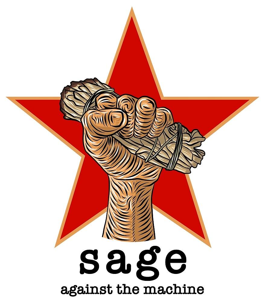 Sage Against The Machine by thekhob