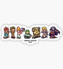 Chrono Trigger Cast Sticker
