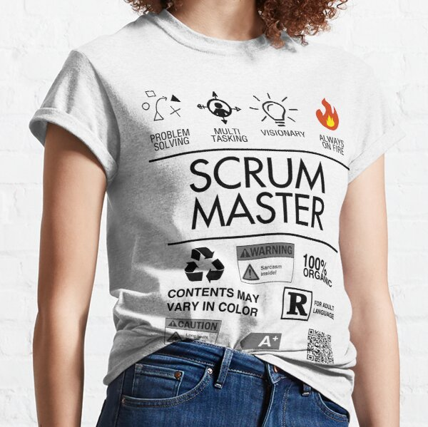 Scrum Master - Always on Fire Classic T-Shirt