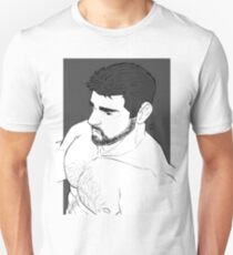 Chris black and white Unisex T-Shirt