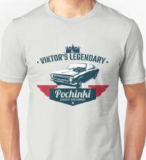 Pochinki Car Garage PUBG T-Shirt