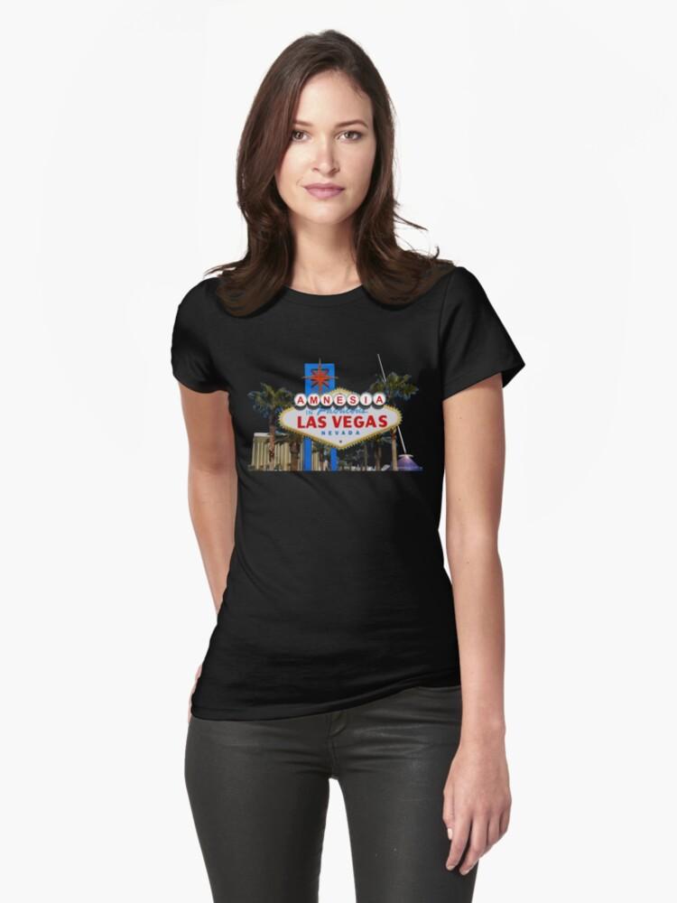 Amnesia Las Vegas Womens T-Shirt Front