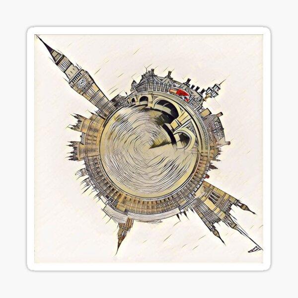 Westminster Sphere Sticker