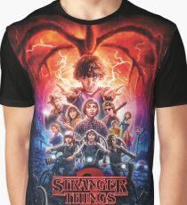 Stranger Things Season 2 Poster Graphic T-Shirt