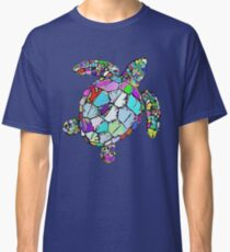 Psychedelic Sea Turtle Classic T-Shirt