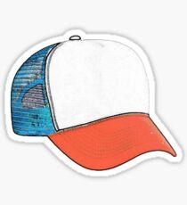 Dustin's Hat Sticker