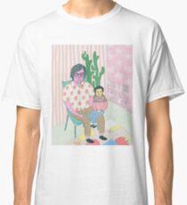Camiseta clásica un chico y su pequeño chico