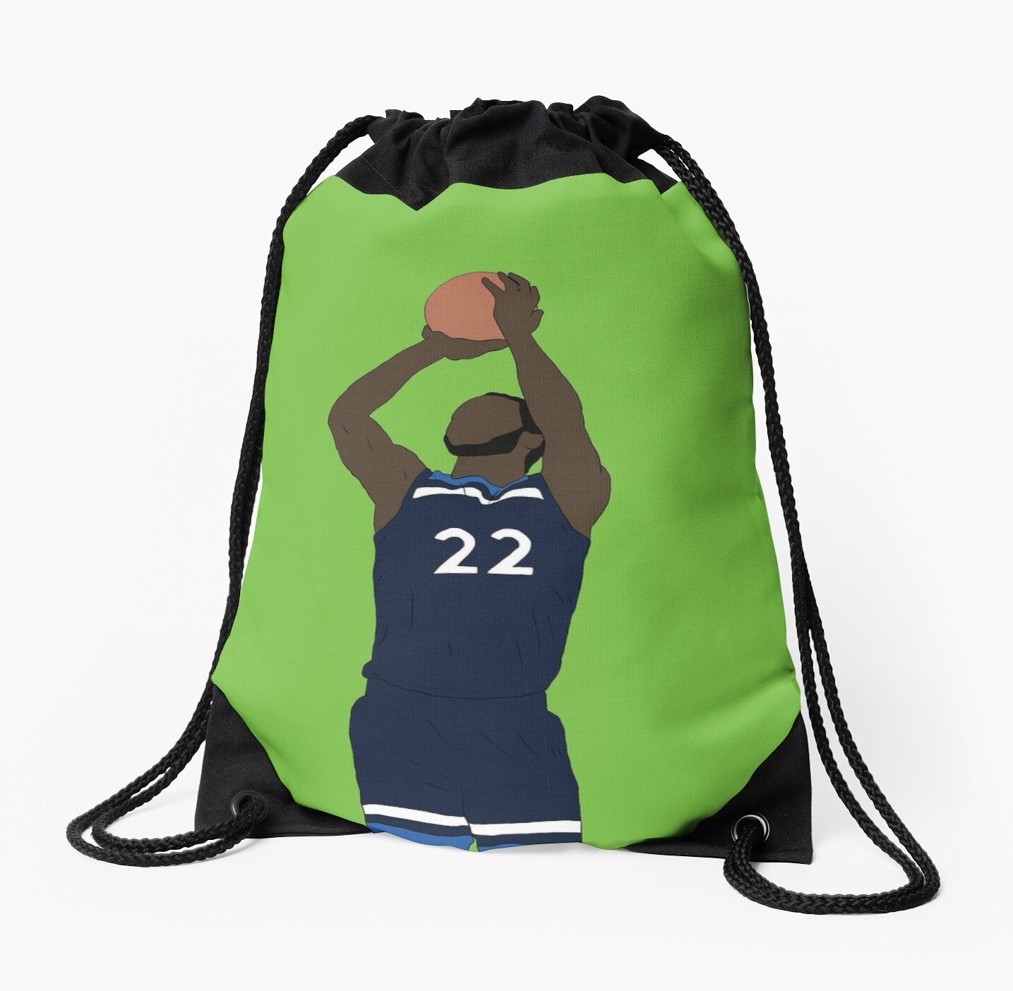 Andrew Wiggins Game Winner Drawstring Bag By Rattraptees Redbubble