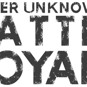 H1Z1 - Battle Royale Black by KingRedbad