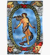 Tarot Gold Edition - Major Arcana - The World Poster