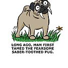 Saber-toothed Pug by Crowden