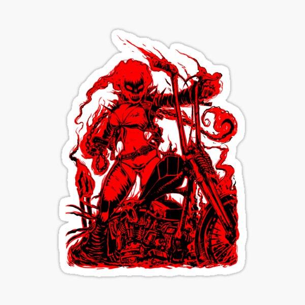 THE RIDER Sticker