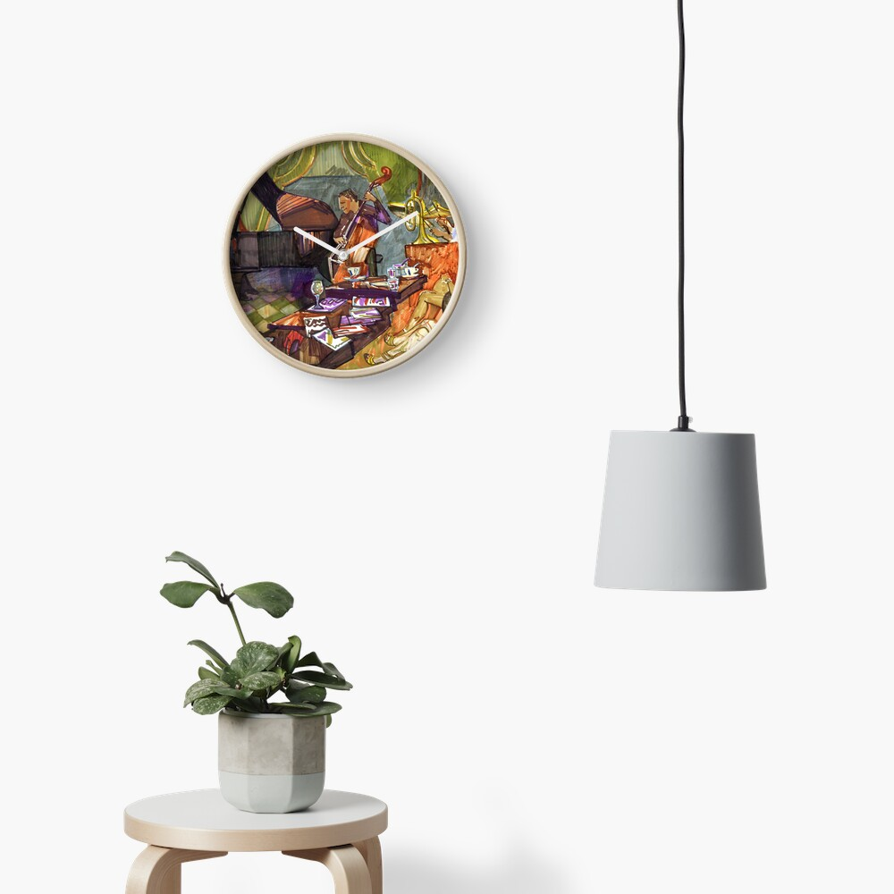 Jazz evening Clock