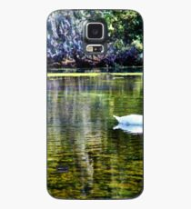 Swans At The Lake Case/Skin for Samsung Galaxy