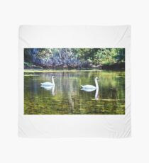 Swans At The Lake Scarf