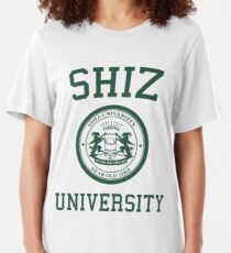 shiz university design Slim Fit T-Shirt