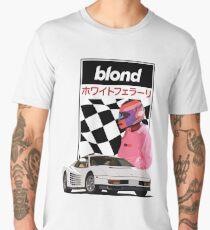 White Ferrari  Men's Premium T-Shirt