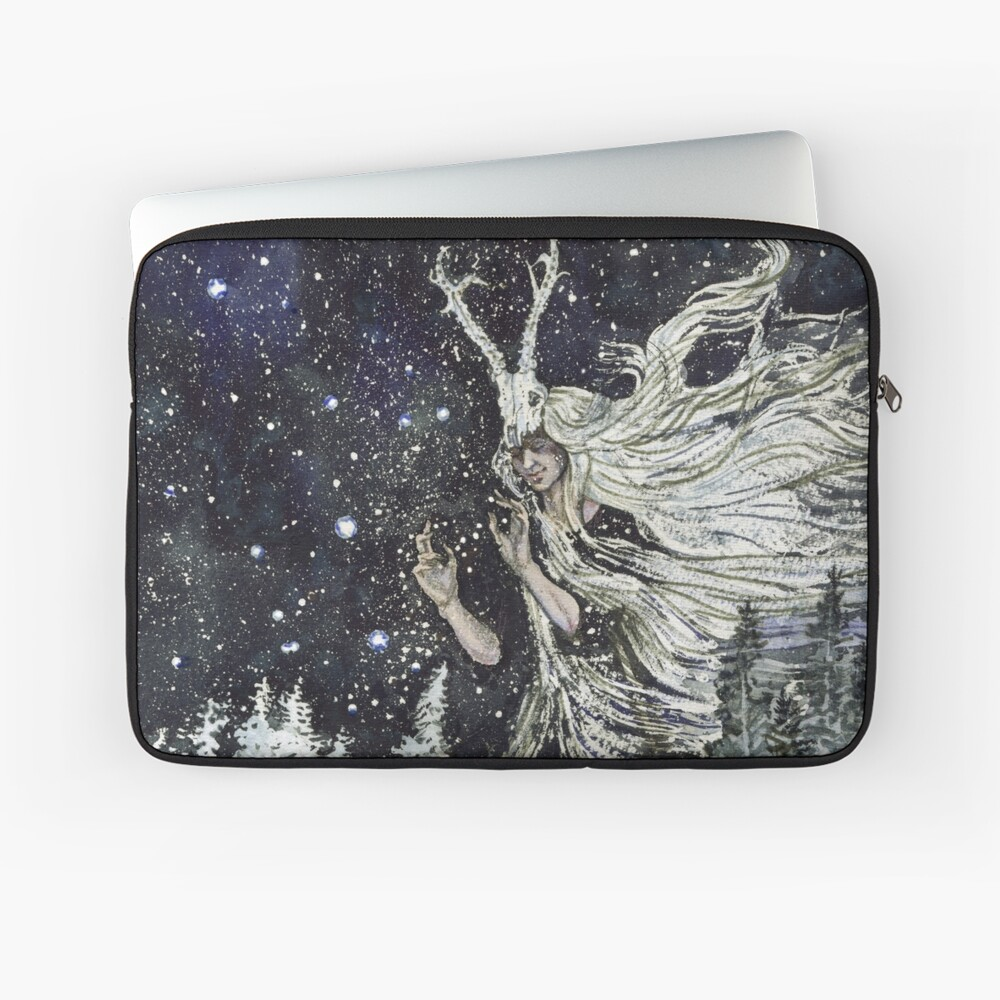 winter witch Laptop Sleeve