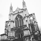 Cathedral in Black and White by Douglas E.  Welch