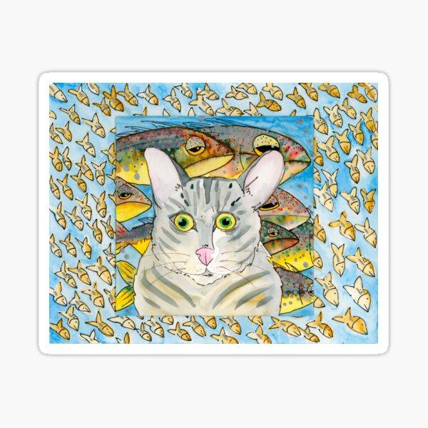 Corny's Cat Sticker