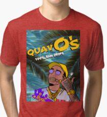 Quavo's Cereal Beach Blue Tri-blend T-Shirt