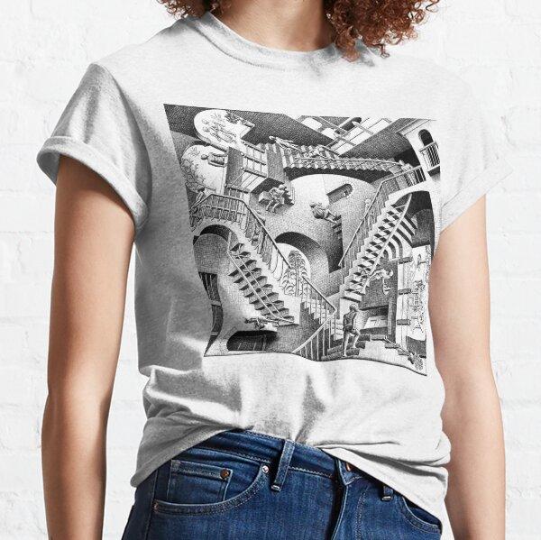 Escher Staircases Classic T-Shirt