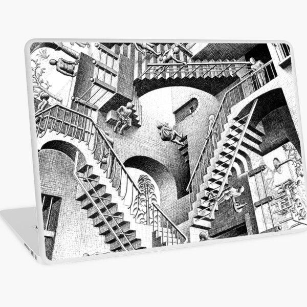 Escher Staircases Laptop Skin