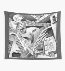 Escher Staircases Wall Tapestry